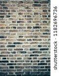 brick wall background | Shutterstock . vector #1182696736