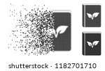 flora book icon in fragmented ... | Shutterstock .eps vector #1182701710