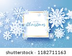 merry christmas and happy new... | Shutterstock .eps vector #1182711163