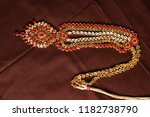 authentic traditional indian...   Shutterstock . vector #1182738790