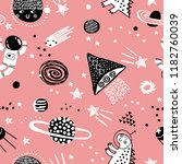 baby seamless pattern with...   Shutterstock .eps vector #1182760039