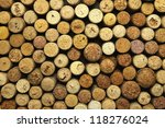 Many Different Wine Corks In...