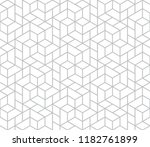 the geometric pattern with... | Shutterstock .eps vector #1182761899