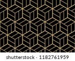 abstract geometric pattern with ... | Shutterstock .eps vector #1182761959