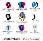 psychology  human brain ...   Shutterstock .eps vector #1182772660