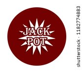 jack pod icon in badge style....