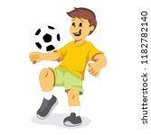 illustration depicts a boy... | Shutterstock .eps vector #1182782140