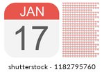 january 1   december 31  ... | Shutterstock .eps vector #1182795760