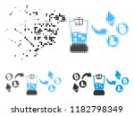 cryptocurrency mixer icon in... | Shutterstock .eps vector #1182798349