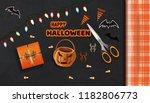 preparing for the celebration... | Shutterstock .eps vector #1182806773