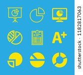 results icons set with a plus... | Shutterstock .eps vector #1182817063