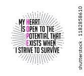 motivation quote for better... | Shutterstock .eps vector #1182858610