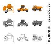 vector illustration of build... | Shutterstock .eps vector #1182872713