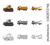 vector design of build and...   Shutterstock .eps vector #1182872746