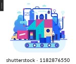 business series  color 2  ... | Shutterstock .eps vector #1182876550
