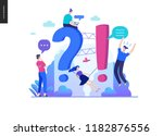 business  color 2  faq  modern... | Shutterstock .eps vector #1182876556
