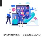 business series  color 2  ... | Shutterstock .eps vector #1182876640