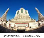 wat arun is a buddhist temple... | Shutterstock . vector #1182876709