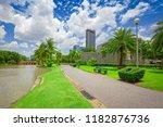 chatuchak park  public park in... | Shutterstock . vector #1182876736