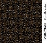 elegant art deco seamless... | Shutterstock .eps vector #1182877669