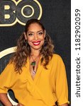 gina torres attends hbo post... | Shutterstock . vector #1182902059