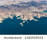 lake meade  the shoreline and... | Shutterstock . vector #1182933523