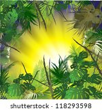 tropical landscape  tropical... | Shutterstock .eps vector #118293598