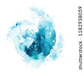 watercolor hand drawn texture   ... | Shutterstock . vector #1182938059