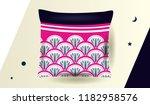ethnic pattern design for... | Shutterstock .eps vector #1182958576