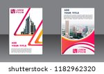 business brochure vector design.... | Shutterstock .eps vector #1182962320
