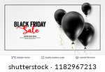 black friday sale backgrond.... | Shutterstock .eps vector #1182967213