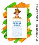 illustration of vintage india... | Shutterstock .eps vector #1182982483