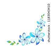 beautiful color flowers ...   Shutterstock .eps vector #1183043410