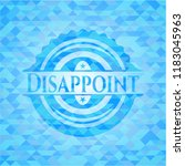 disappoint realistic sky blue...   Shutterstock .eps vector #1183045963