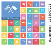 construction icon set. very...   Shutterstock .eps vector #1183047223