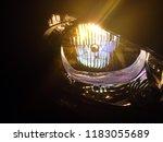 halogen headlights are... | Shutterstock . vector #1183055689