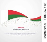 madgascar happy independence... | Shutterstock .eps vector #1183057540