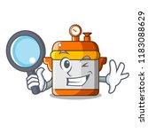 detective cartoon rice electric ... | Shutterstock .eps vector #1183088629