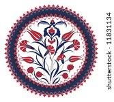 traditional ottoman turkey... | Shutterstock .eps vector #11831134