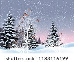 illustration with red... | Shutterstock .eps vector #1183116199