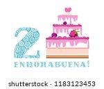 happy anniversary. big berry...   Shutterstock .eps vector #1183123453