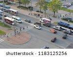 st. petersburg  russia  ... | Shutterstock . vector #1183125256