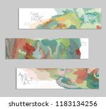 abstract cover template with... | Shutterstock .eps vector #1183134256