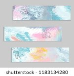 abstract cover template with... | Shutterstock .eps vector #1183134280