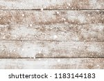 vintage white wood wall with... | Shutterstock . vector #1183144183