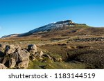 View On Snowcapped Pen Y Ghent...