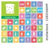 food icon set. very useful food ...   Shutterstock .eps vector #1183146049