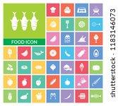 food icon set. very useful food ...   Shutterstock .eps vector #1183146073