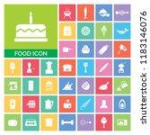 food icon set. very useful food ...   Shutterstock .eps vector #1183146076