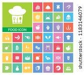 food icon set. very useful food ...   Shutterstock .eps vector #1183146079